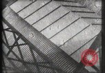 Image of Elevator ascending Eiffel Tower Paris France, 1900, second 6 stock footage video 65675040584