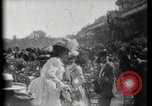 Image of women wearing hats Paris France, 1900, second 8 stock footage video 65675040595