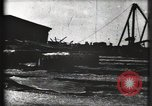 Image of Ruins on dock Galveston Texas USA, 1900, second 9 stock footage video 65675040598