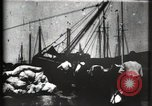 Image of Stranded schooner Galveston Texas USA, 1900, second 10 stock footage video 65675040599