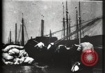 Image of Stranded schooner Galveston Texas USA, 1900, second 11 stock footage video 65675040599