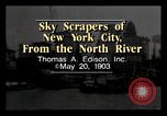 Image of North River New York City USA, 1903, second 3 stock footage video 65675040608