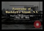 Image of Blackwell's Island New York City USA, 1903, second 3 stock footage video 65675040609