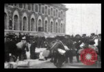 Image of Immigrants arriving at Ellis Island New York City USA, 1906, second 5 stock footage video 65675040611