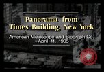 Image of Times Building New York City USA, 1905, second 2 stock footage video 65675040613