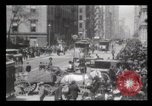 Image of Lower Broadway New York City USA, 1903, second 5 stock footage video 65675040615