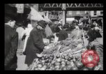 Image of Pushcart vendors New York City USA, 1903, second 5 stock footage video 65675040618