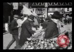 Image of Pushcart vendors New York City USA, 1903, second 7 stock footage video 65675040618