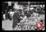 Image of Pushcart vendors New York City USA, 1903, second 8 stock footage video 65675040618