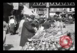 Image of Pushcart vendors New York City USA, 1903, second 9 stock footage video 65675040618