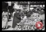 Image of Pushcart vendors New York City USA, 1903, second 10 stock footage video 65675040618