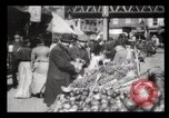 Image of Pushcart vendors New York City USA, 1903, second 12 stock footage video 65675040618