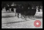 Image of Sleighs New York City USA, 1898, second 7 stock footage video 65675040624