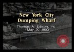 Image of wharf New York City USA, 1903, second 1 stock footage video 65675040628