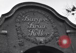 Image of Burger-Brau Keller Munich Germany, 1945, second 11 stock footage video 65675040639