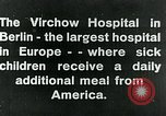 Image of Virchow Hospital Berlin Germany, 1920, second 4 stock footage video 65675040645