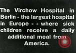 Image of Virchow Hospital Berlin Germany, 1920, second 9 stock footage video 65675040645