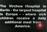 Image of Virchow Hospital Berlin Germany, 1920, second 10 stock footage video 65675040645
