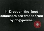 Image of Dresden Germany, 1920, second 7 stock footage video 65675040647