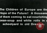 Image of Feeding children in Dresden Germany Germany, 1920, second 10 stock footage video 65675040648