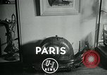 Image of various small curios Paris France, 1947, second 2 stock footage video 65675040653
