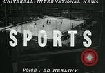 Image of basketball match New York United States USA, 1947, second 1 stock footage video 65675040655