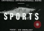 Image of basketball match New York United States USA, 1947, second 2 stock footage video 65675040655