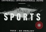 Image of basketball match New York United States USA, 1947, second 3 stock footage video 65675040655