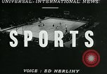 Image of basketball match New York United States USA, 1947, second 4 stock footage video 65675040655