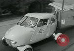 Image of Moulton Taylor Aerocar aerobile Longview Washington USA, 1951, second 6 stock footage video 65675040659