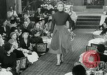 Image of Fashion Show Munich Germany, 1951, second 9 stock footage video 65675040660
