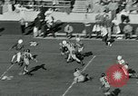 Image of Football match College Park Maryland USA, 1951, second 11 stock footage video 65675040663