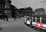 Image of Frankfurt Central Station one year after World War 2 Frankfurt Germany, 1946, second 9 stock footage video 65675040670