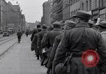 Image of German prisoners of war marched in Munich Munich Germany, 1945, second 4 stock footage video 65675040676