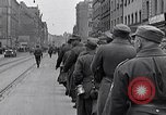Image of German prisoners of war marched in Munich Munich Germany, 1945, second 6 stock footage video 65675040676