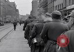 Image of German prisoners of war marched in Munich Munich Germany, 1945, second 7 stock footage video 65675040676