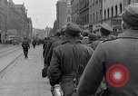 Image of German prisoners of war marched in Munich Munich Germany, 1945, second 9 stock footage video 65675040676