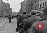 Image of German prisoners of war marched in Munich Munich Germany, 1945, second 12 stock footage video 65675040676