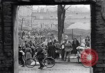 Image of German people gather fuel end World War 2 Munich Germany, 1945, second 10 stock footage video 65675040680