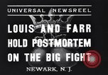 Image of Joe Louis New Jersey United States USA, 1937, second 3 stock footage video 65675040681