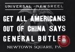 Image of General Butler Pennsylvania United States USA, 1937, second 1 stock footage video 65675040682