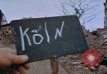 Image of Bomb damage Cologne Germany, 1945, second 8 stock footage video 65675040689
