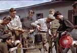 Image of Moosburg POW camp liberated prisoners Moosburg Germany, 1945, second 6 stock footage video 65675040694