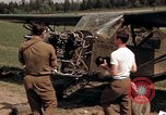 Image of U.S. Army aircraft mechanics Germany, 1945, second 9 stock footage video 65675040696