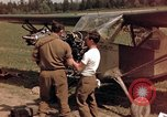 Image of U.S. Army aircraft mechanics Germany, 1945, second 10 stock footage video 65675040696