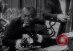 Image of jazz drummer musician United States USA, 1935, second 2 stock footage video 65675040710