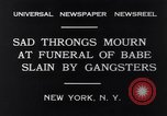 Image of Michael Vengalli funeral procession New York City USA, 1931, second 8 stock footage video 65675040716