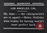 Image of Helen Holliday Los Angeles California USA, 1931, second 3 stock footage video 65675040717