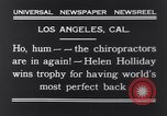 Image of Helen Holliday Los Angeles California USA, 1931, second 10 stock footage video 65675040717