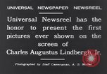 Image of Charles Augustus Lindbergh East Amwell New Jersey USA, 1931, second 7 stock footage video 65675040723